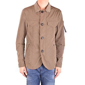 Peuterey Ezbc017085 Men's Brown Polyester Outerwear Jacket
