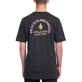 Volcom Peace Is Progress Bsc Short Sleeve T-Shirt en noir