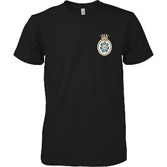 HMS Ranger - atual cor de t-shirt do navio da Marinha Real