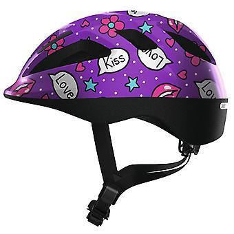 Abus Smooty 2,0 polku pyörän kypärä//violetti suukkoja