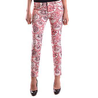 Frankie Morello Ezbc167039 Women's Red Denim Jeans