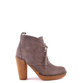 Serafini Ezbc155001 Dames's Beige Suede Ankle Boots