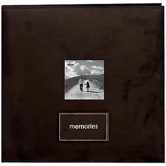Pioneer brodate faux Suede post legat album 12