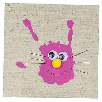 Giant Hand & Foot Print Paint Pad for EASTER Crafts, Cards, Rabbits, Chicks.