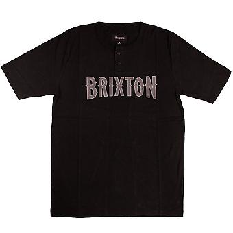 Brixton Benson Henley camiseta negro