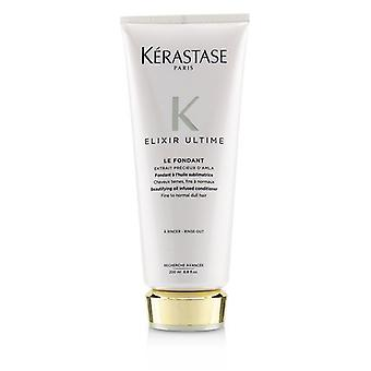 Kerastase Elixir Ultime Le Fondant Beautifying Oil Infused Conditioner (fino a cabello normal aburrido) - 200ml/6.8oz