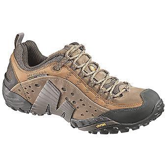 Merrell Moth Brown Mens Intercept Walking Shoes