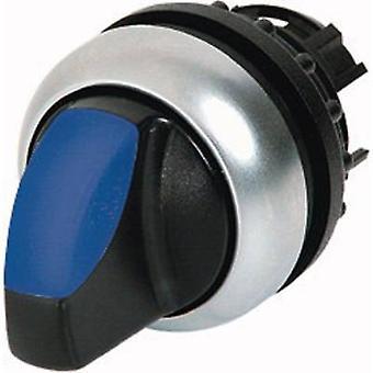 Eaton M22-WRLK-B drukknop zwart, blauw 1 PC (s)