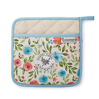 Cooksmart Country Floral Pot Holder
