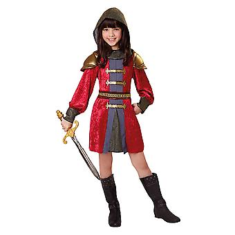 Bristol Novelty Childrens/Girls Knight Princess Costume