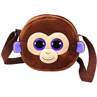 TY Gear Coconut Monkey Ape Shoulder Bag wallet 18cm