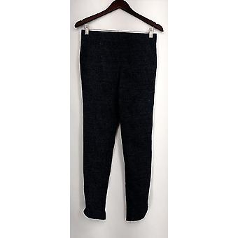 Slimming Options for Kate & Mallory Leggings Zippered Leg Blue A430703