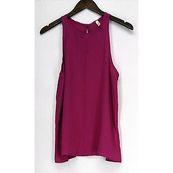 Lyss Loo Top At First Crush Top Magenta Purple Womens
