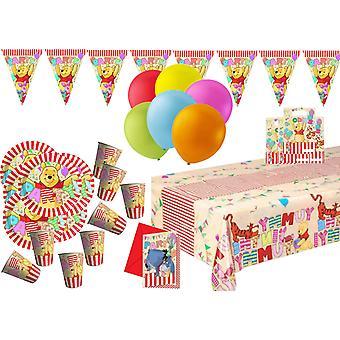 Nalle Puh Teema-puolue Kit-Party Kit lasten puolue