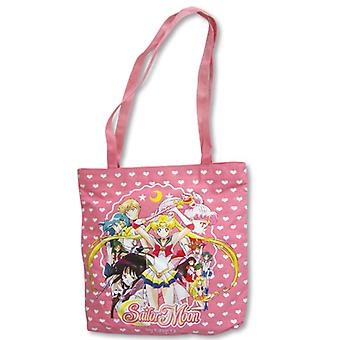Sac fourre-tout - Sailor Moon - New Pink Group Lady Purse Anime Gifts Toys ge11004