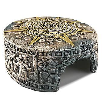 Exo Terra Aztec Calendario Pietra Nascondi fuori - Piccolo
