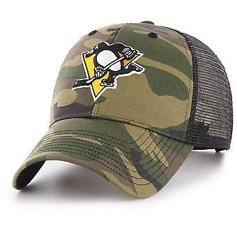 47 Brand Snapback Cap - BRANSON Pittsburgh Penguins camo
