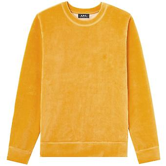 A.p.c A.P.C Velvet Sweat Band Sweatshirt