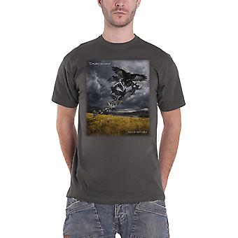 David Gilmour T Shirt Rattle That Lock Logo new Official Mens Charcoal Grey