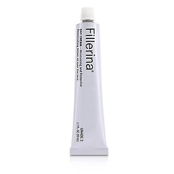 Fillerina Day Cream (Moisturizing & Protective) - Grade 2 50ml/1.7oz