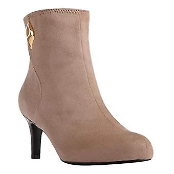 Impo Womens Norrah Fabric Almond Toe Ankle Fashion Boots