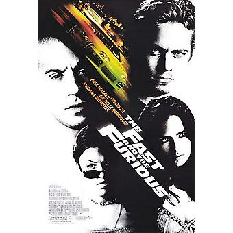 2001: The Fast And The Furious (Single Sided) Original Cinema Poster
