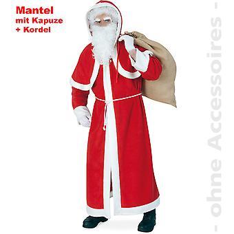 Nicholas vacht mannen kostuum van Xmas Santa Claus heer kostuum