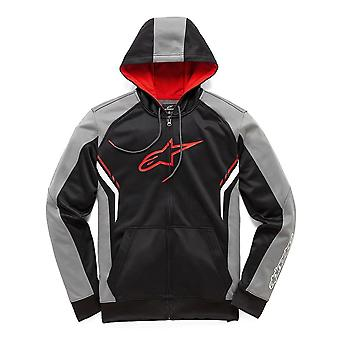 Alpinestars Strike Zipped Hoody in Black/White