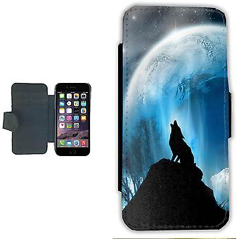 Howling Wolf iPhone 6/6s wallet case Pouch wallet Shell