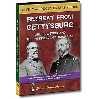 Retreat From Gettysburg: Lee Logistics & the Penns [DVD] USA import