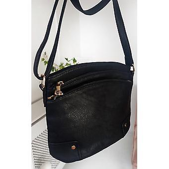 IKRUSH Womens Kathy Gold Detail Cross Body Bag