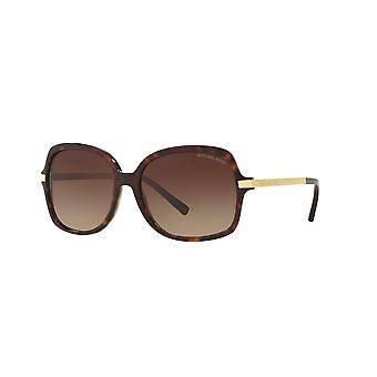 Michael Kors Adrianna II MK2024 3106/13 Dark Tortoise-Gold/Brown Gradient Sunglasses