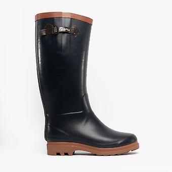 Aiglentine kůže dámy Wellington boty mořský