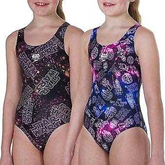Speedo Girls Star Wars allover úszni egy darab úszás jelmez fürdőruha