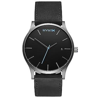 MVMT MM01-BSL classic black silver 45mm 3ATM