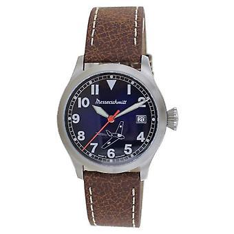 Aristo Men's Messerschmitt Watch Pilot's Watch Comet ME-163BLN Leather