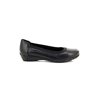 Mod Comfys Womens/Ladies Elasticated Top Band Leather Casual Shoes