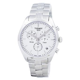 Tissot pr 100 Quartz Chronograph t 101.417.11.031.00 T1014171103100 mænd ' s Watch
