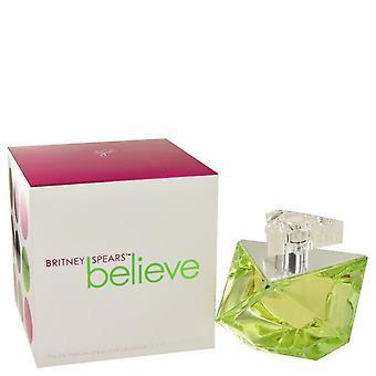 Acredite em eau de parfum spray por britney spears 441782 100 ml