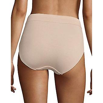 Bali Women's Incredibly Soft Hi-Cut Panty, Paris Nude,, Paris Nude, Size 7.0