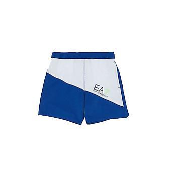 EA7 Boys Boys EA7 Blue Swim Shorts