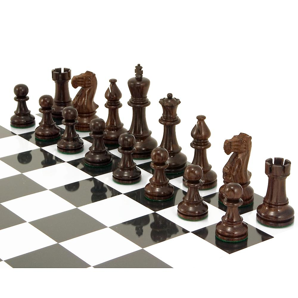 Atlantic Series Rosewood Staunton Chess Pieces 4.25 Inches