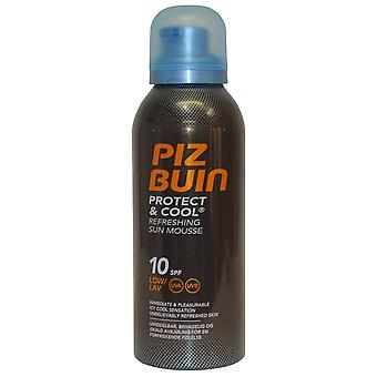 Piz Buin Sun Mousse rafraîchissante protéger et Cool SPF10 150ml