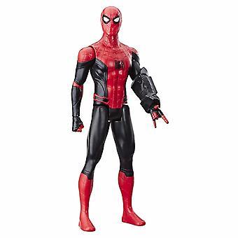 Spider-man langt hjemmefra Titan Hero figur spider-man med Power FX port