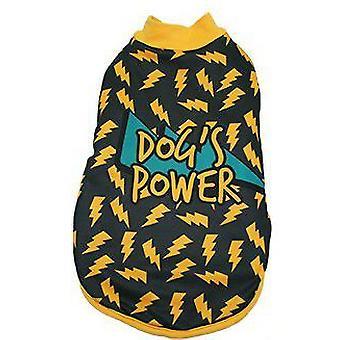 MI&DOG Abrigo Capa Felpado Dogs Power T-25 (Dogs , Dog Clothes , Coats and capes)