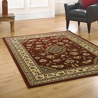 Sherborne Traditional Rugs In Red