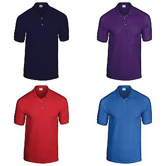 Gildan DryBlend Childrens Unisex Jersey Polo Shirt (Pack Of 2)