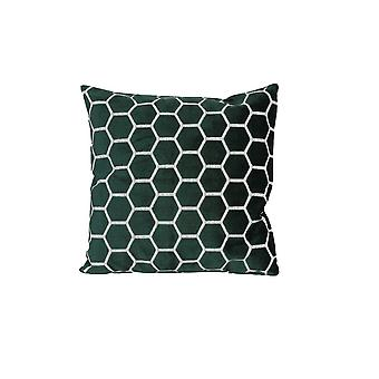 Light & Living Pillow 45x45cm Honeycomb Green