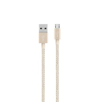 Belkin MIXIT UP Metallic Micro-USB Cable (4 feet) - Gold