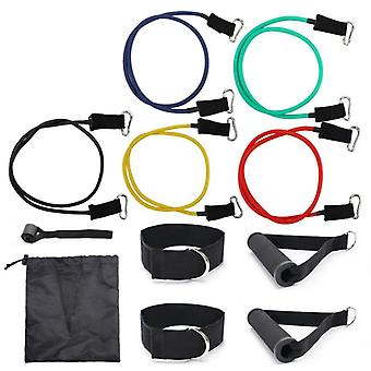 Training set with resistance band 11 parts